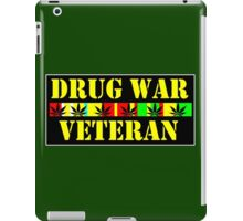drug war veteran iPad Case/Skin