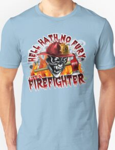 Firefighter Skull 5: Hell Hath No Fury T-Shirt