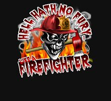 Firefighter Skull 5: Hell Hath No Fury Unisex T-Shirt