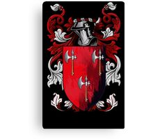 The Coat of Arms Canvas Print