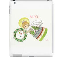 Christmas Angel Holly iPad Case/Skin