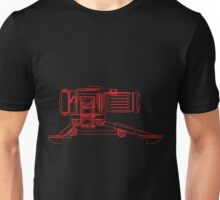 Machine Gun Camera Lines Unisex T-Shirt