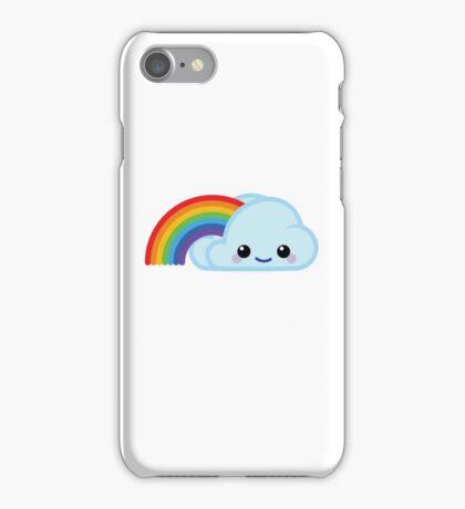 Mood Swing - Happy rainbow cloud iPhone Case/Skin