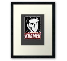 OBEY COSMO KRAMER Framed Print