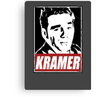OBEY COSMO KRAMER Canvas Print