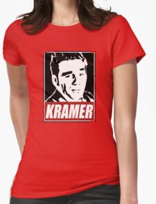 OBEY COSMO KRAMER Womens Fitted T-Shirt