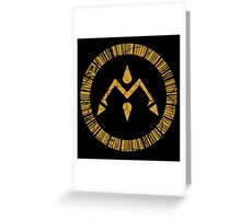 Crest of Miracles Greeting Card