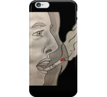 Cigarette on your lips iPhone Case/Skin