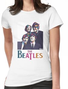beatles 2 Womens Fitted T-Shirt