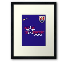 US Quidditch Jersey - 2014 World Cup Framed Print