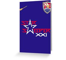 US Quidditch Jersey - 2014 World Cup Greeting Card