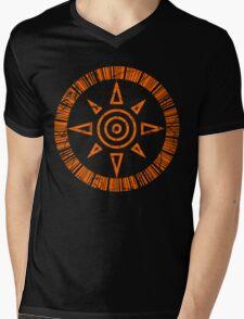 Crest of Courage Mens V-Neck T-Shirt