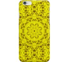 """Spirit of India: Fleur-Sun"" in golden yellow iPhone Case/Skin"