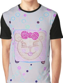 Tanya the happy bear by Nikki Ellina Graphic T-Shirt