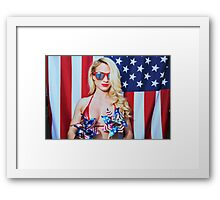 American Beauty No9034 Framed Print