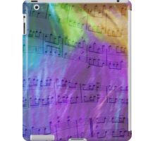 Psychedelic Musical Notes iPad Case/Skin