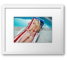 American Beauty No9060 Framed Print