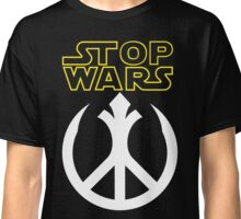 STOP WARS: rebel peace insignia  Classic T-Shirt