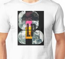 Stereo LP Record Collage Unisex T-Shirt