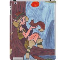 Wood Elf And Squirrel iPad Case/Skin
