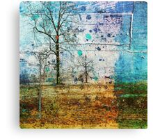 Happy Trees Canvas Print