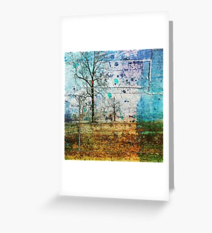 Happy Trees Greeting Card