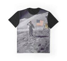 Moon Salute Graphic T-Shirt