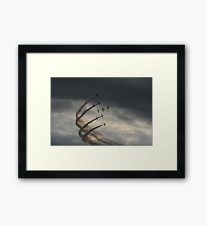 red arrows 2014 Framed Print