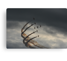 red arrows 2014 Canvas Print