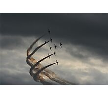 red arrows 2014 Photographic Print