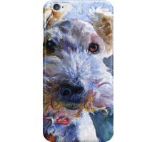 Fox Terrier Full iPhone Case/Skin