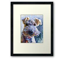 Fox Terrier Full Framed Print
