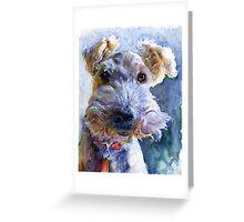 Fox Terrier Full Greeting Card
