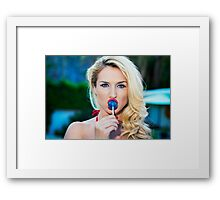 American Beauty No9098 Framed Print