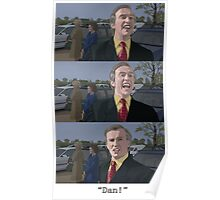 """Alan Partridge - """"Dan!"""" Poster"""