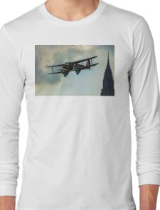 Business Class Travel In The 1930s Long Sleeve T-Shirt