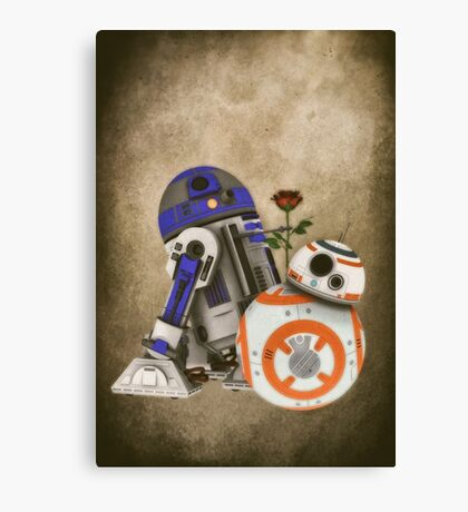 Android Love 2 Canvas Print