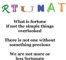 Different Fortunes Sticker