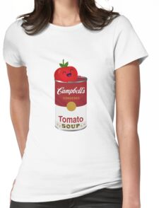 Tomato Soup Womens Fitted T-Shirt
