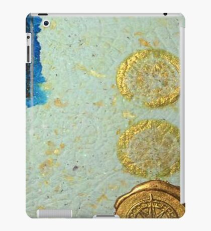 gold stamp iPad Case/Skin