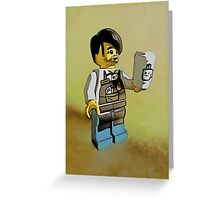The world's best barista! Greeting Card