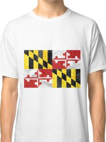 Maryland Flag Classic T-Shirt