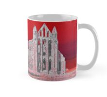 Whitby Abbey (Red) Mug