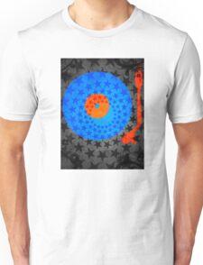 Vinyl Record Stars Unisex T-Shirt