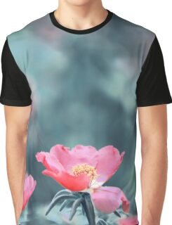 Red flowers garden Graphic T-Shirt