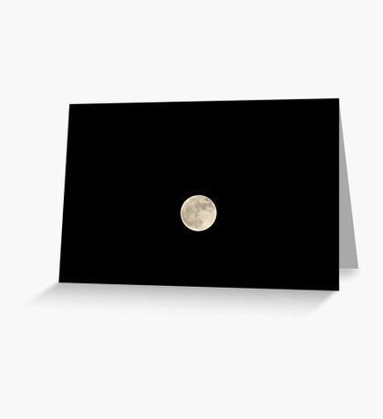 Super Moon - Nov. 2016  Greeting Card