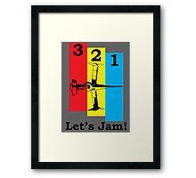 Cowboy Bebop 3, 2, 1, Let's Jam! Framed Print