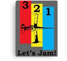 Cowboy Bebop 3, 2, 1, Let's Jam! Canvas Print
