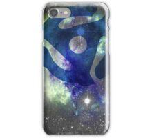 Cosmic Space Vinyl Record iPhone Case/Skin