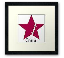 Luffy Crimin Framed Print